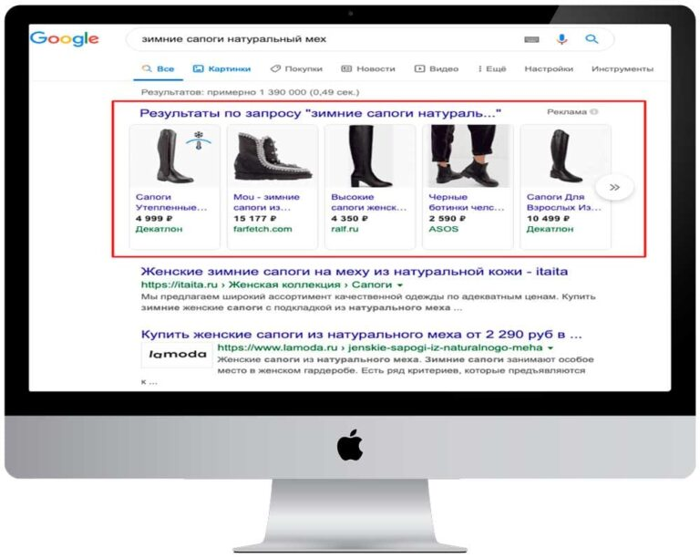 Баннерная Google Ads
